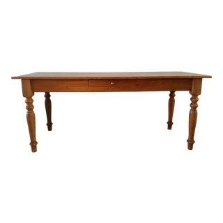 Rustic Farmhouse Dining Table