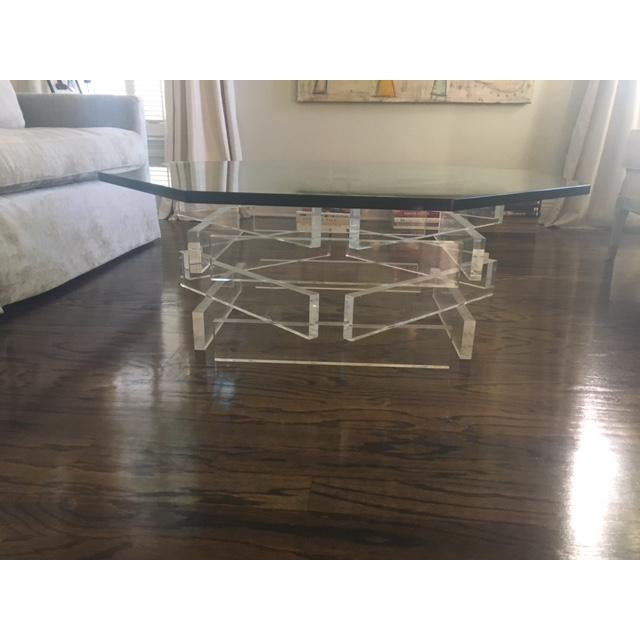Lucite 'Brick' Coffee Table - Image 2 of 7