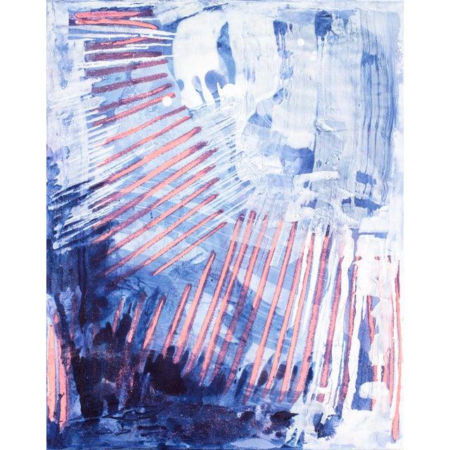 """""""Bioluminescent I"""" Acrylic Painting - Image 1 of 2"""