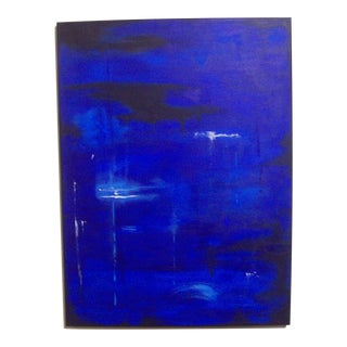 "Dawn Walling ""Twilight Lagoon"" Original 18"" X 24"" Acrylic on Canvas Painting"