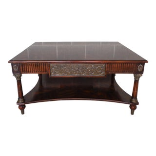 "Theodore Alexander Regency Style Coffee Table 42""W"