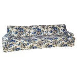 Image of Mid-Century 1960s Great Form Floral Couch