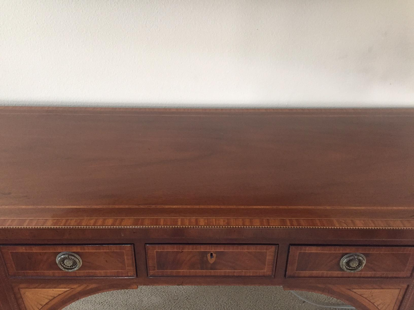 Chippendale Mahogany Buffet Table   Image 5 Of 5