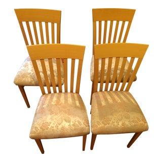 A. Sibau Italian Vintage Dining Room Chairs - Set of 4