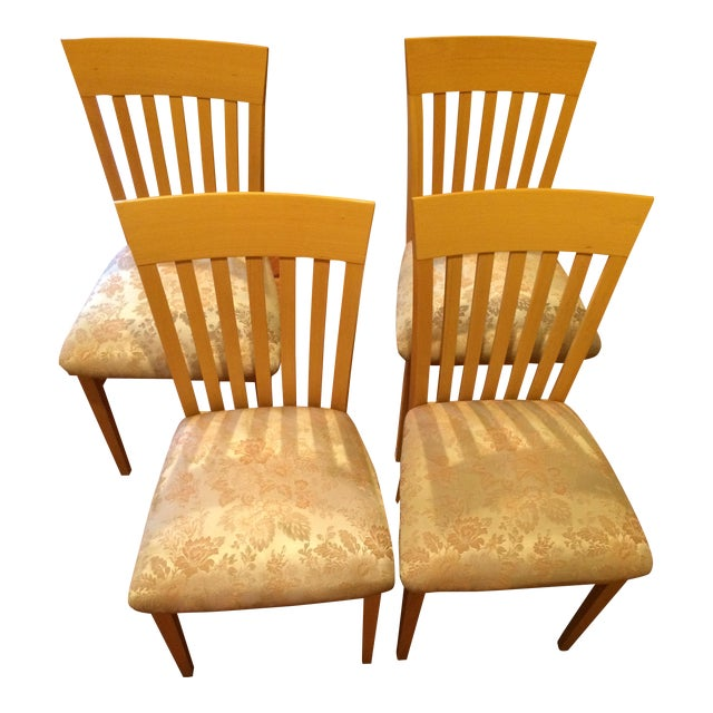 Retro Dining Room Chairs: A. Sibau Italian Vintage Dining Room Chairs