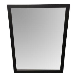 Hitchcock & Butterfield Espresso Framed Wall Mirror