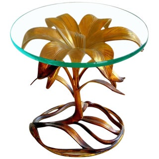 Arthur Court Style Lily Table