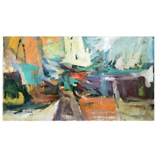 1959 Vintage Abstract Painting