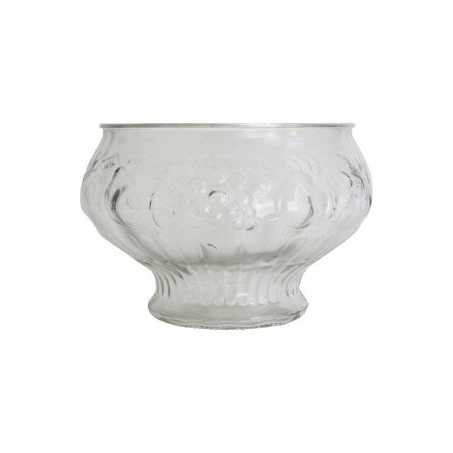 Italian Glass Harvest Punch Bowl - Image 1 of 5