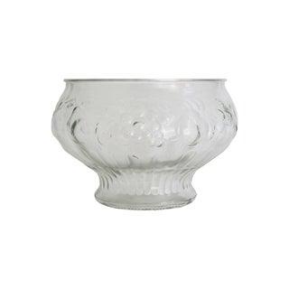 Italian Glass Harvest Punch Bowl
