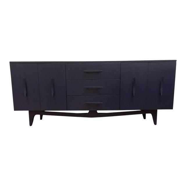 Vintage Blue Mid-Century Modern Dresser - Image 1 of 6