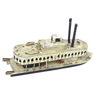 Antique Model River Steam Boat