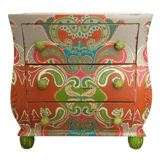 Psychedelic Painted Dresser