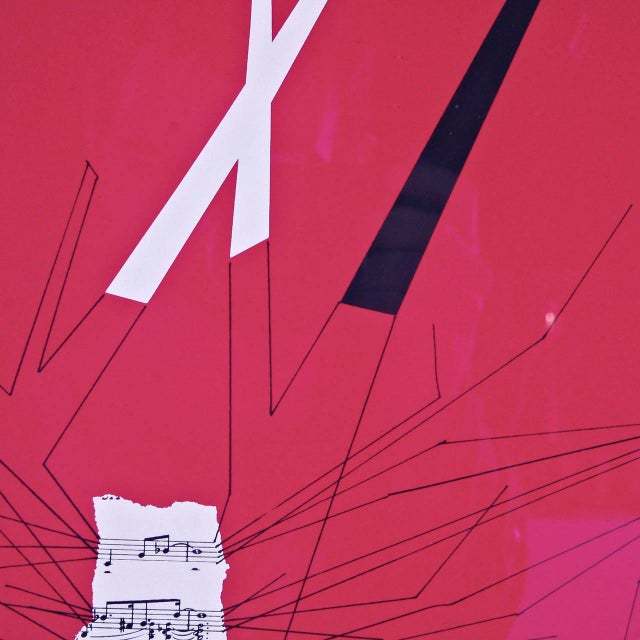 Bruno Munari Screen Print Hand Signed, 1984 - Image 5 of 7