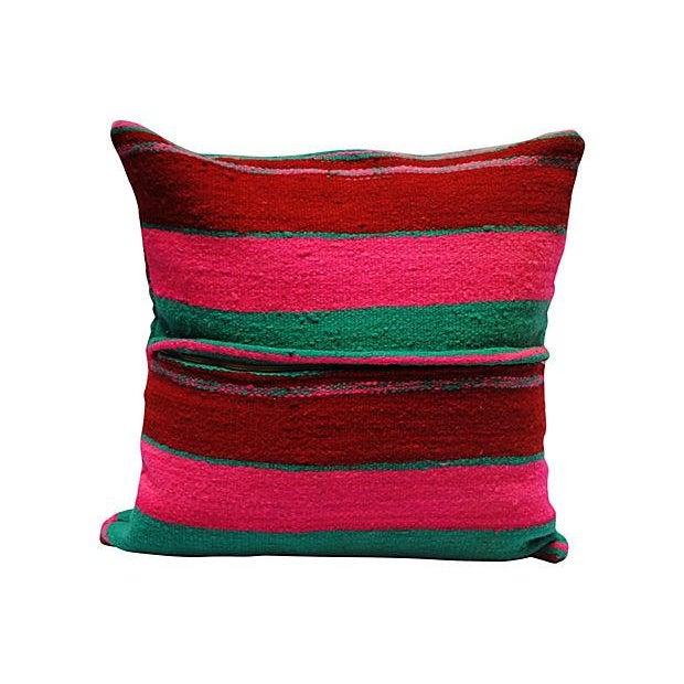 Moroccan Wool Pillow Sham - Image 2 of 4