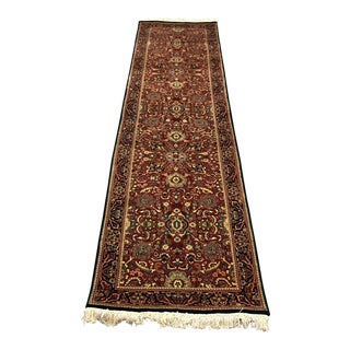 Hand Woven Traditional Wool Runner - 2′10″ × 10′5″