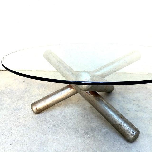 Milo Baughman Sculptural Tripod Coffee Table - Image 8 of 10