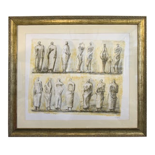 Limited Edition Lithograph by Henry Moore