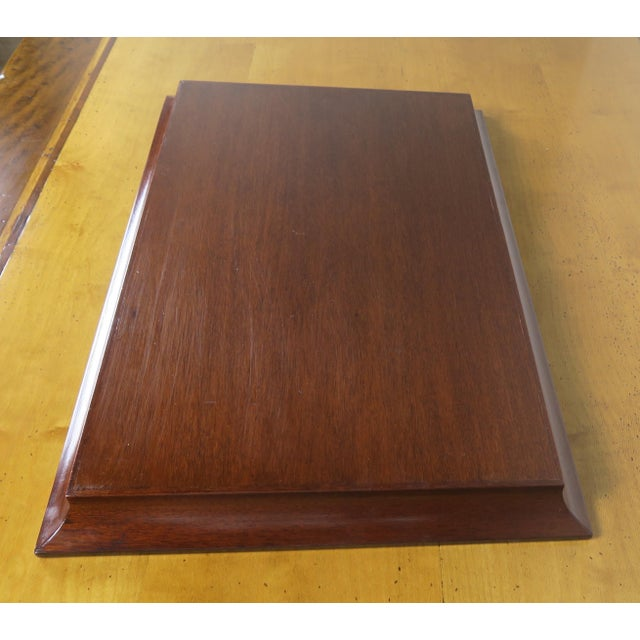 English Mahogany Tray - Image 6 of 7