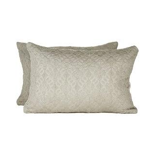 Highland Court by Duralee Silk Pillow - Pair