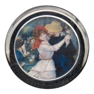 "Renoir's ""The Country Dance"" Glass Paperweight"