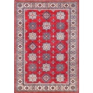 """Pasargad Red Kazak Wool Rug -10'4"""" x 13'11"""""""
