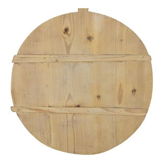 19th Century French Boulangerie Bread Cutting Board