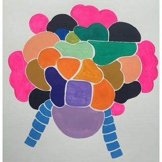 Original Acrylic Painting on Paper - Headdress