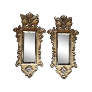 Vintage Venetian Mirrors - a Pair