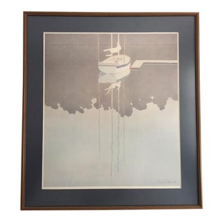 Rare Signed Limited Edition Mark Adams Marine Print