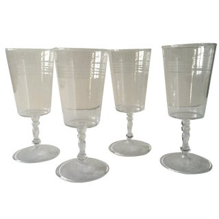 Seletti Italy Wine Glasses - Set of 4