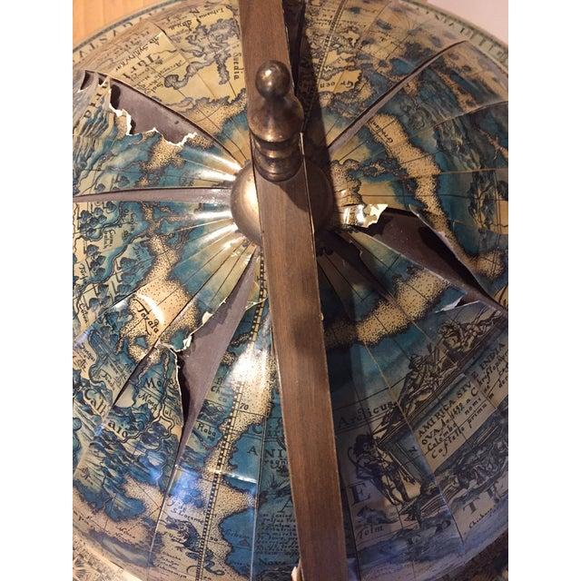Mid-Century World Globe Bar Cart - Image 8 of 10