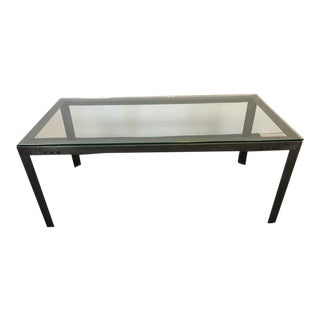 Forged Metal & Soldered Corner Dining Table