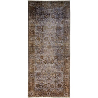 "Vibrance, Hand Knotted Runner Rug - 5' 2"" X 11' 10"""