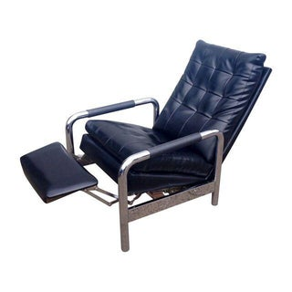 Milo Baughman for Thayer Coggin Black Recliner
