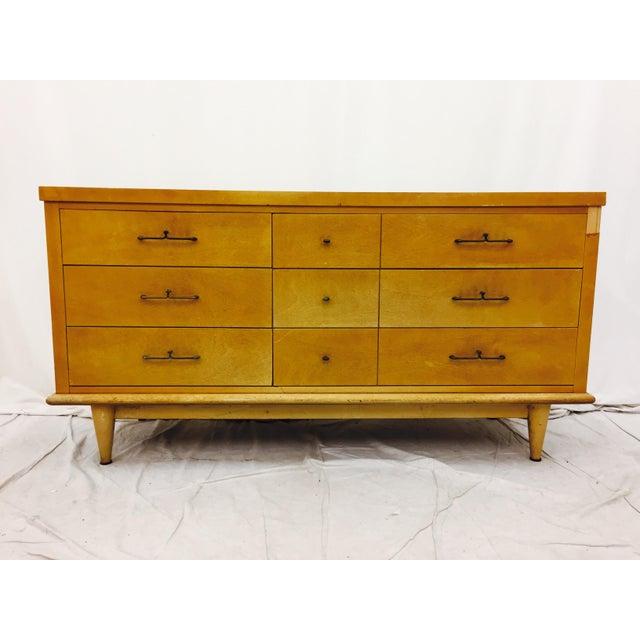 Vintage Dixie Furniture Mid Century Dresser Chairish