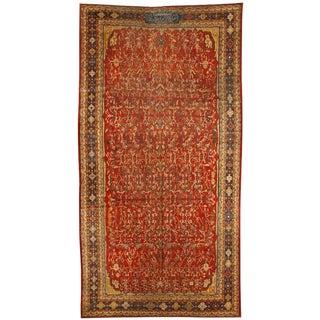 Exceptional Antique 19th Century Persian Qashqai Gallery Carpet
