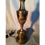 Image of Vintage Stiffel Solid Brass Lamp