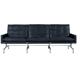 Poul Kjaerholm PK31 Three-Seat Sofa by Fritz Hansen