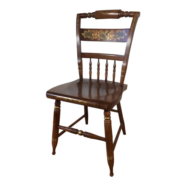 Vintage Hitchcock Inn Chair - Image 1 of 8