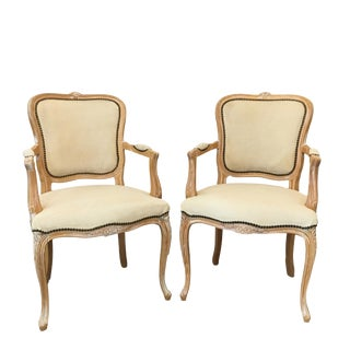 Bergere Arm Chairs - A Pair