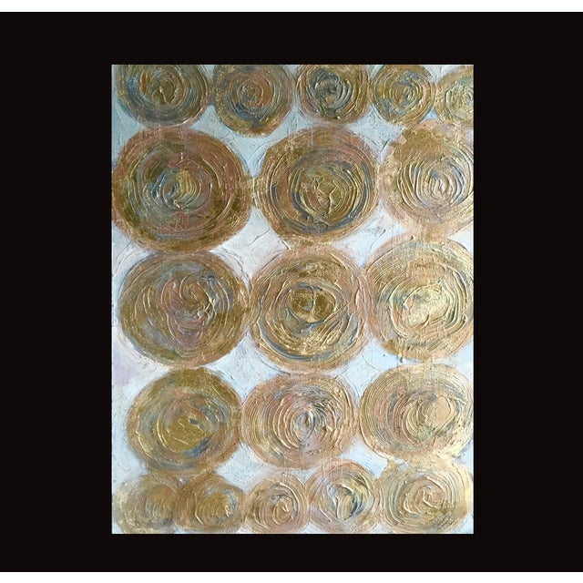 """""""Golden Circles"""" Painting by Bryan Boomershine - Image 4 of 4"""