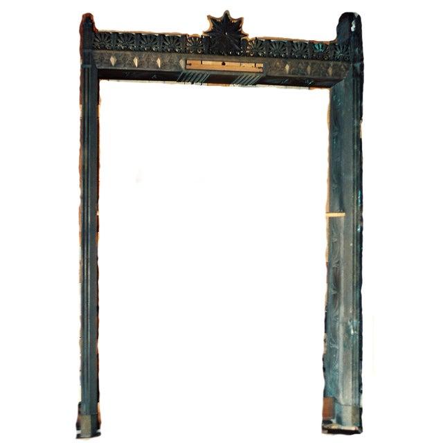 Art Deco Bronze/Brass Elevator Door Frame - Image 10 of 10