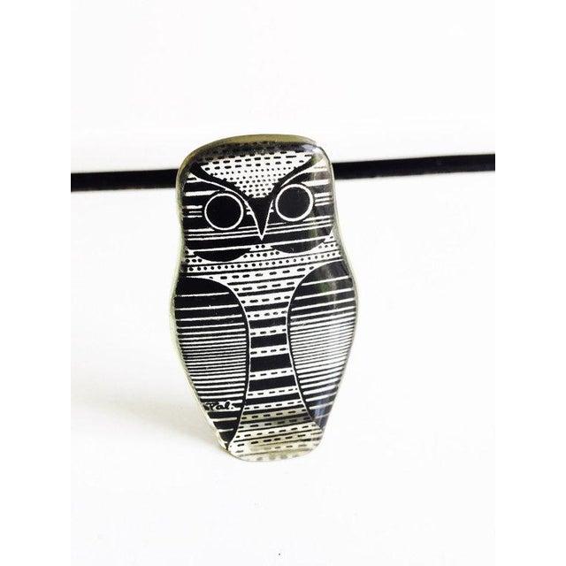 Vintage Abraham Palatnik Owl Figurine - Image 3 of 5