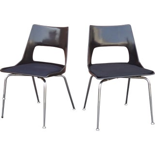 Krueger Fiberglass Chairs - A Pair
