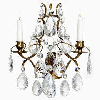 Crystal Pompe Sconce Chandelier