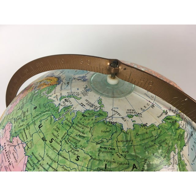 Vintage Globemaster Legend World Globe - Image 5 of 8