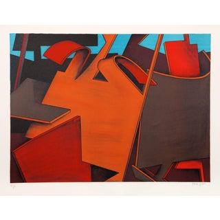 "Jasha Green, ""Untitled 26,"" Lithograph"