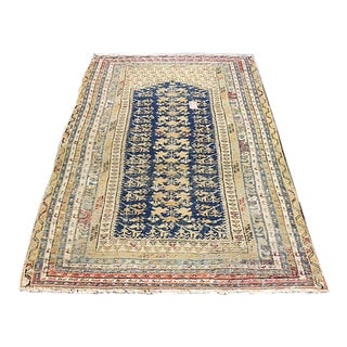 Antique Turkish Rug - 3′11″ × 5′8″
