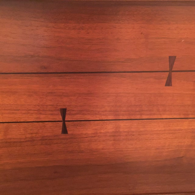 Mid-Century Bow Tie Dresser by Lane - Image 3 of 3